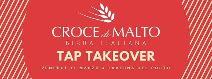 Croce di Malto logo su sfondo rosso