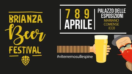 Locandina Brianza Beer festival